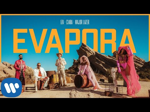 IZA, Ciara and Major Lazer - Evapora (Official Music Video)