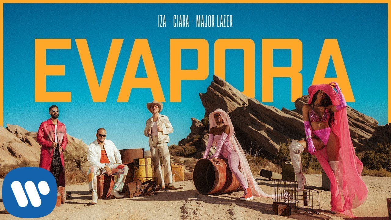 IZA - IZA, Ciara and Major Lazer - Evapora (Official Music Video)