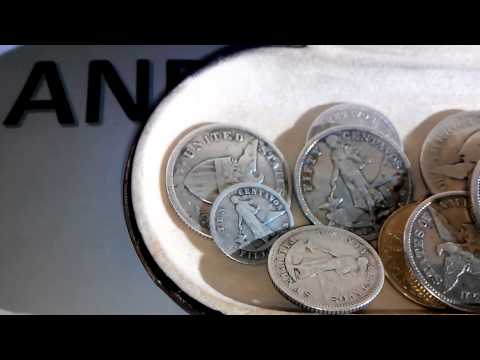 PHILIPPINES OLD SILVER COINS