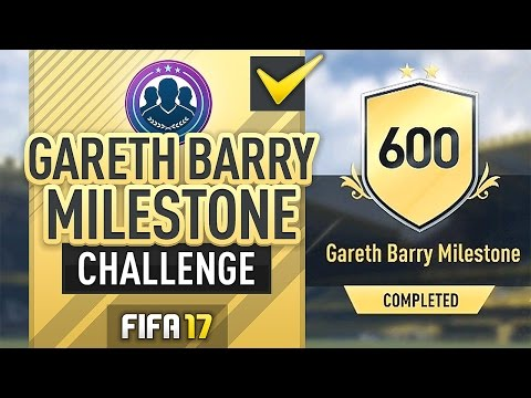 GARETH BARRY MILESTONE! SBC (COMPLETED/CHEAP) - #FIFA17 Ultimate Team