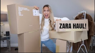 ZARA HAUL/MY FIRST EVER YOUTUBE VIDEO!!!!!!