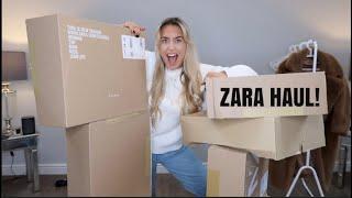 ZARA HAUL/MY FIRST EVER YOUTUBE VIDEO!!!!!!