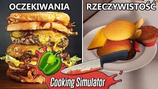 Największy Burger Challenge - Cooking Simulator