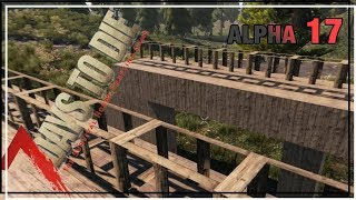 ★ Final day 7 horde prep - Ep 14 - 7 Days to Die alpha 17 solo - single player let's play