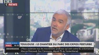 Manif Loi Travail XXL : Clash entre Pascal Praud et Sophie Binet (CGT) (CNEWS, 12/09/17, 10h)
