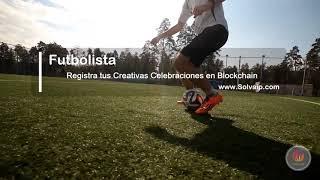 Futbolista | Registra tus Creativas Celebraciones en Blockchain | www.Solvaip.com
