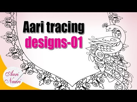 Aari Neck Designs01 Aari Tracing Designs Book Zari Work Tracing