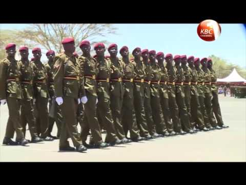 President Uhuru commits to improving welfare of police