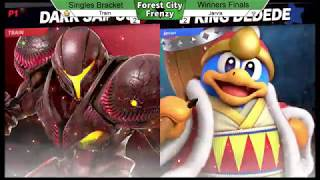 WEGA Ultimate #1 - Train (Dark Samus) vs Jarvis (King Dedede, Donkey Kong)- LSFs