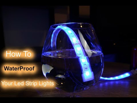 How to Water Proof Your Led Strip Lights - Guaranteed !!!