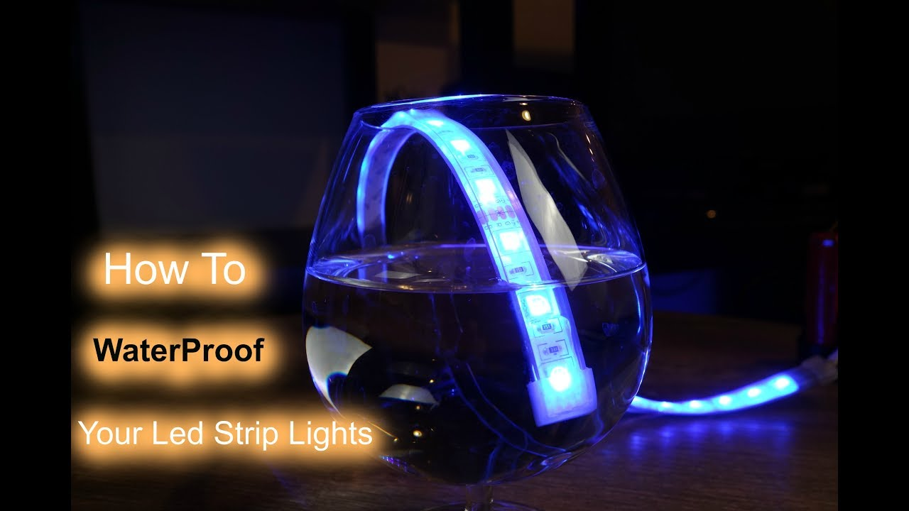 How to Water Proof Your Led Strip Lights