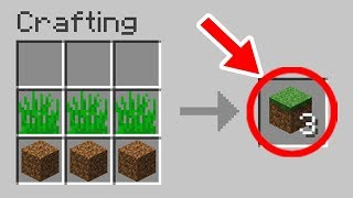 Minecraft: NEW Crafting Recipes That Should be Added