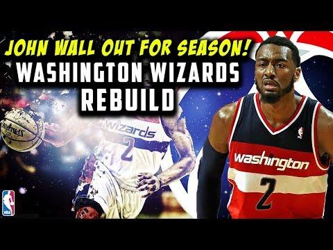 JOHN WALL OUT FOR SEASON! WASHINGTON WIZARDS REBUILD! NBA 2K19 MY LEAGUE