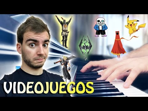 Videojuegos al Piano. Tocamos y analizamos 5 bandas sonoras. | Jaime Altozano