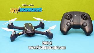 Hubsan H216A review: Unboxing, Binding, Calibrating and Test flight