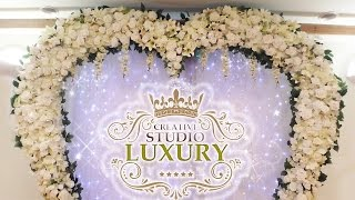 Свадебная арка СЕРДЦЕ светодиоды СВАДЬБА в Харькове 2015 Studio Luxury 0507770818