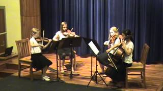 Vivaldi, Concerto for Two Trumpets, Allegro, Arranged for String Quartet