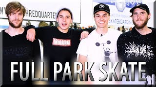 SMELLIEST Full Park Battle! ft. Kelly & Luke