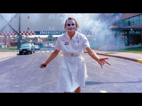 Joker blow up the hospital   The Dark Knight [UltraHD, HDR, IMAX]
