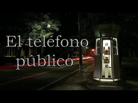 El teléfono público  Creepypasta Con El Orgullo del Operador