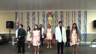 TNTT Doan VSL LBM 2014 - Thieu Nhi Modern Dance