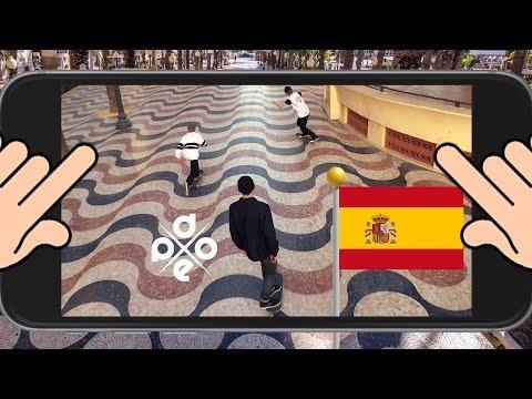 "Dope Skateboards - ""No Spain No Gain"" [Filmed on Iphone 6]"