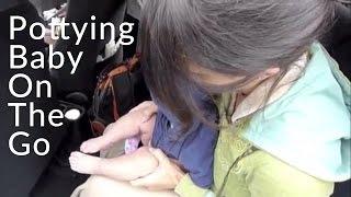 Elimination Communication: Pottying Baby On-the-Go