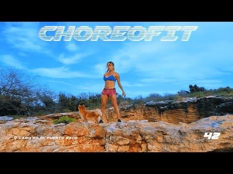 ChoreoFit - 100 Squat Challenge Puerto Rico   Magga Braco