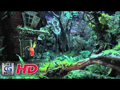 "CGI 3D Short Spot :  ""Firefly""  For - Mnet"