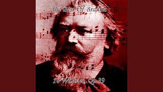 Johannes Brahms - 16 Waltzes, Op.39 - No.1 in B