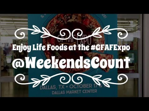 Enjoy Life Foods at Gluten and Allergen Free Expo In Dallas, Texas