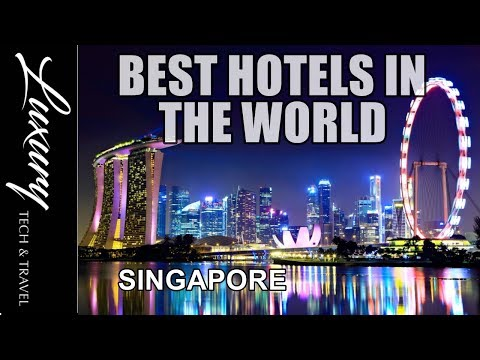 Best Hotels in SINGAPORE || Luxury Singapore Resorts VIDEO TOUR