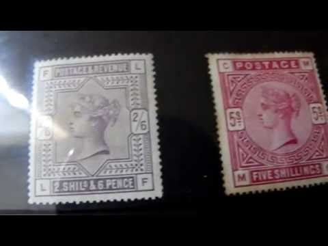 Stamps, Great Britain Victoria