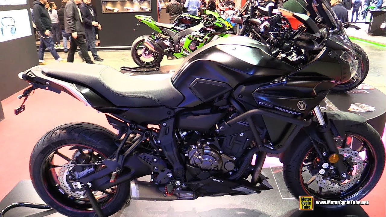 2016 Yamaha MT07 Tracer Customized By Puig
