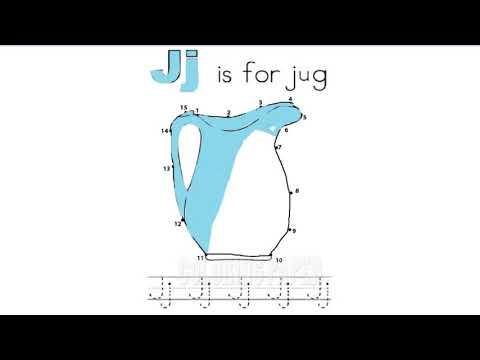 Connect The Dots   Puzzle Game Dot To Dot   Fun Activities For Kids   Jj is For Jug