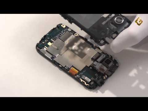 HTC 7 Mozart - как разобрать смартфон и из чего он состоит