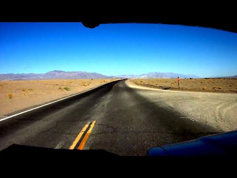 Drive Through Death Valley - HD 1080p