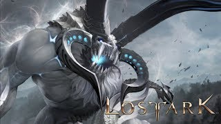 Lost Ark - Guardian Raid - Arctic Regioros - Snow Map - CBT2