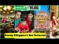 Wedding Anniversary Vlog | Celebration At Singapore's Best Restaurant | SuperPrincessjo