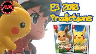 Pokemon Lets Go Pikachu & Eevee E3 2018 Predictions + Details For Online And A New Pokemon Species