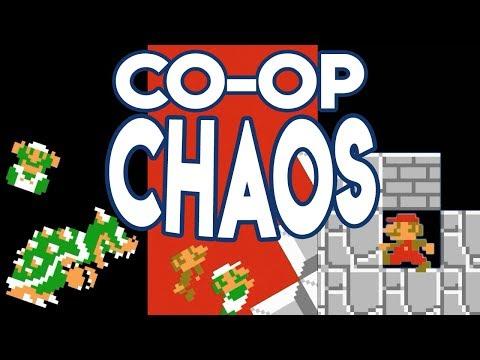 Super Mario Bros. CHAOS EDITION 2 Player Co-op!