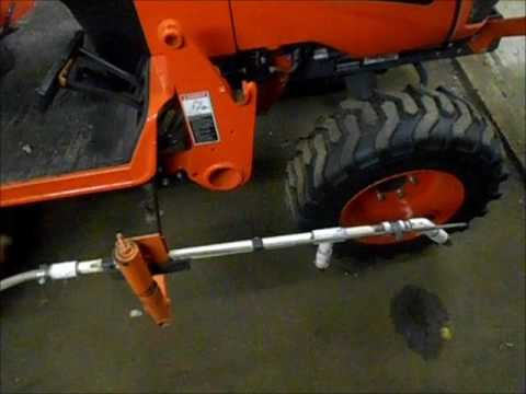 pto sprayer hook up