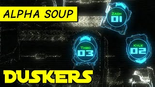 Duskers gameplay: Salvage & hack spaceships by remote control! [PC alpha game]