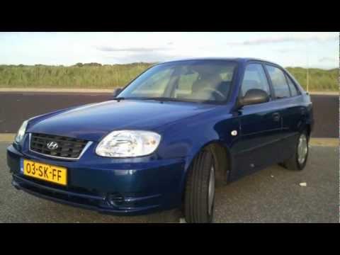Hyundai Accent 1 3i Active Version 2006 Blauw Autoweek Review Energielabel B