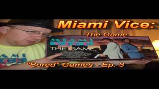 "Review of ""Miami Vice - the Game"" (Board Game Review)"