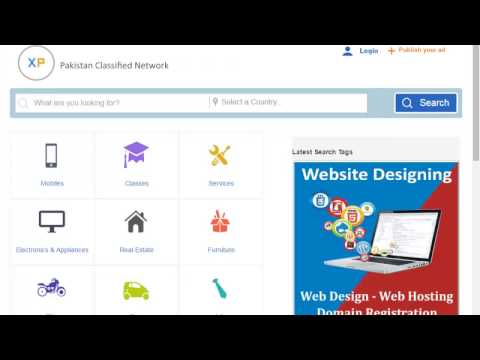 Free Classified In Pakistan   How To Post A Free Classifieds Website Like Olx