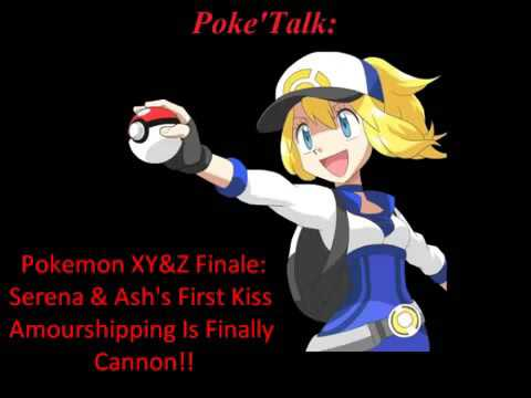 Poke'Talk XY&Z Finale; Serena & Ash's First Kiss, Amourshipping Is Now Cannon!
