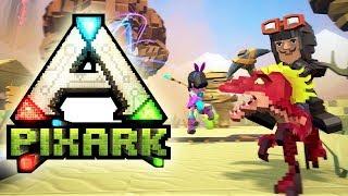PixARK #01 | Willkommen in der Steinzeit | Gameplay German Deutsch thumbnail