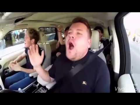 One Direction (Harry styles)Carpool Karaoke  Best high note ever