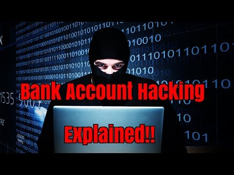 How Hackers Hack Bank Accounts Explained!How To Prevent Hacking